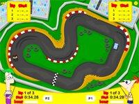 Игра на двоих-Финеас и Ферб-радиоуправляемые гонки