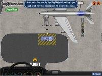 Симулятор пассажирского автобуса в аэропорту — флеш игра